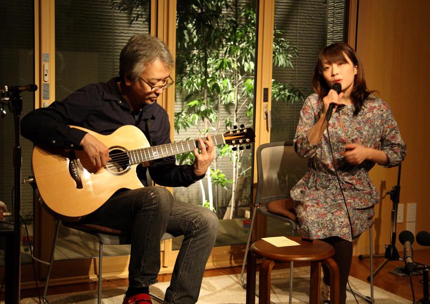 野分(アコースティック・ギター 竹内いちろさん、ボーカル 山崎のりこさん
